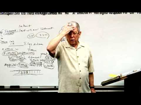 "3493 Inheritance:  Greek Word Construction- Prefixes And Little Words-""In""- T-U-L-I-P..."
