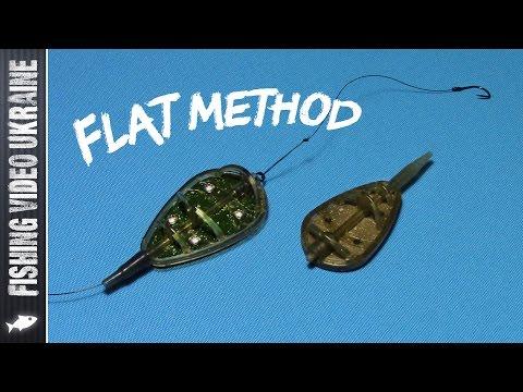 Оснастка флэт кормушки | FLAT METHOD FEEDER | HD