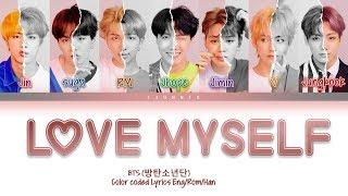 Bts  방탄소년단  - 'answer : Love Myself'  Color Coded Lyrics Eng/rom/han/가사