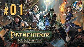 PATHFINDER : Kingmaker (Druide en difficile) avec Krayn | Let's Play FR #1