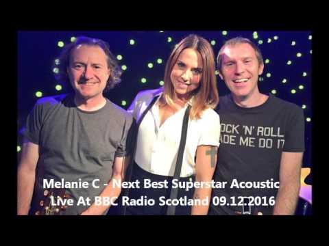 Melanie C - Next Best Superstar Acoustic Live On BBC Radio Scotland 09.12.2016