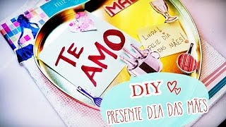 DIY: Tábua Porta-Recados | Presente de Dia das Mães ♡