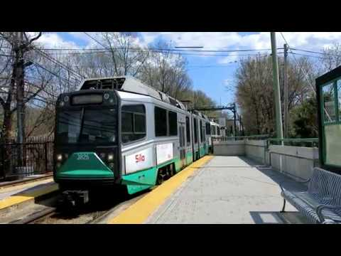 "Boston MBTA Green Line ""D"" Branch full ride (Riverside - Park Street)"