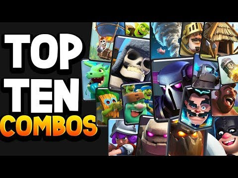 Top 10 Strongest CARD COMBOS In Clash Royale!