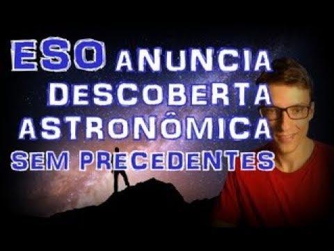 ESO fará anúncio de descoberta espacial sem precedentes.