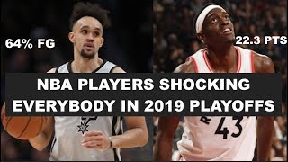 5 Players Shocking Everybody In The 2019 NBA Playoffs