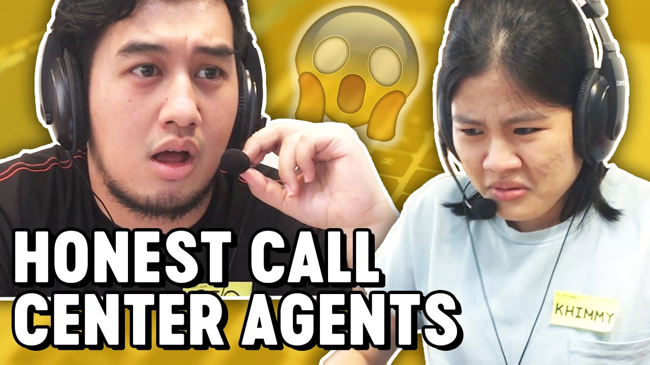 If Pinoy Call Center Agents Were Honest Pgag Youtube