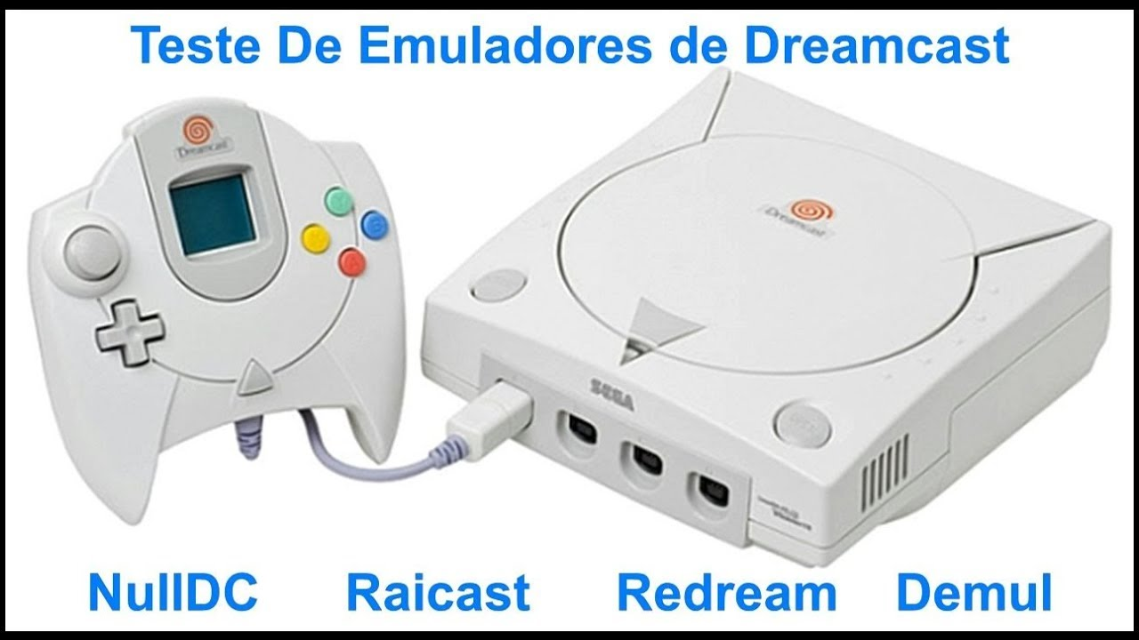 Ultimos Emuladores de Dreamcast de 2017 (Download + bios)