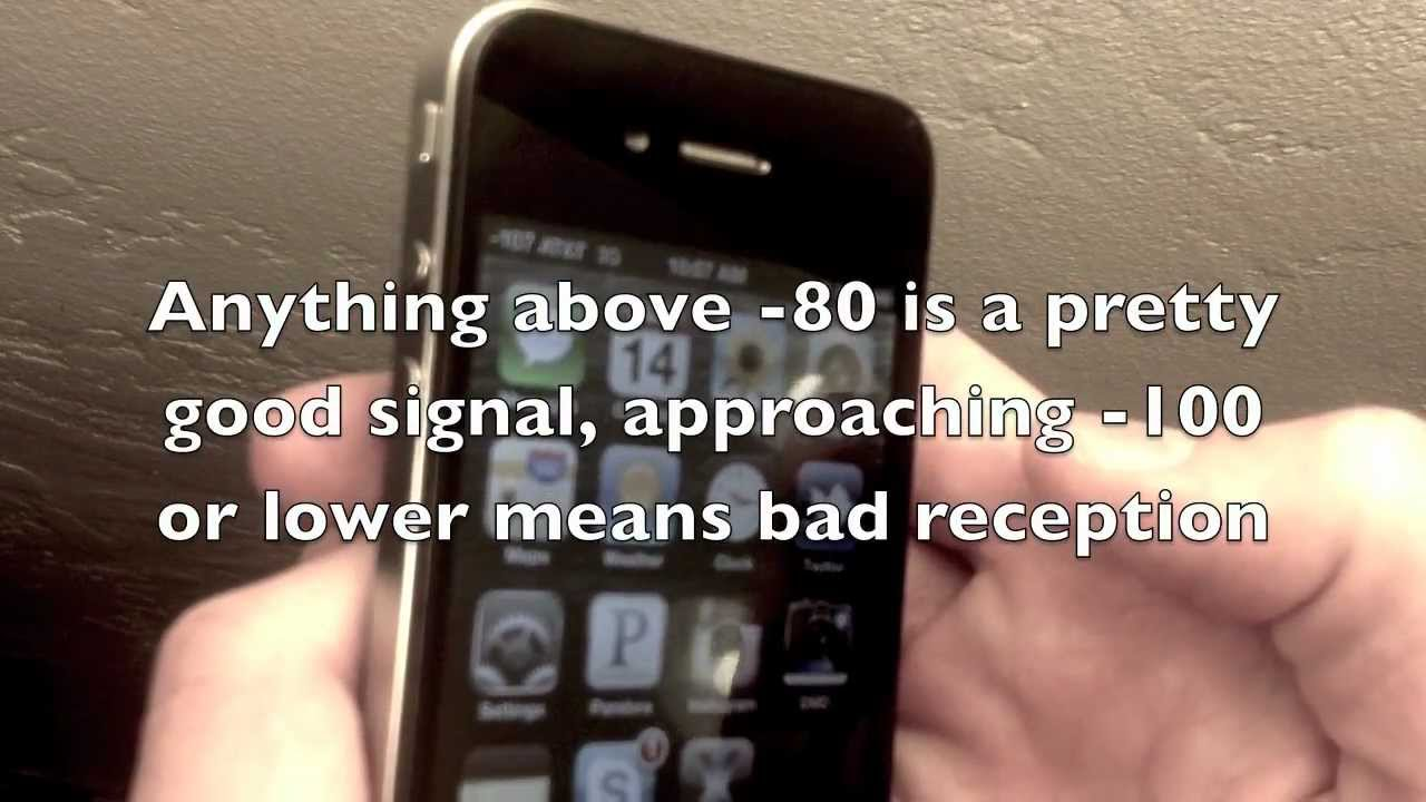 Show True Signal Strength on iPhone with Field Test Mode