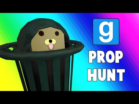 Gmod Prop Hunt Funny Moments What Wood You Be? Garry's
