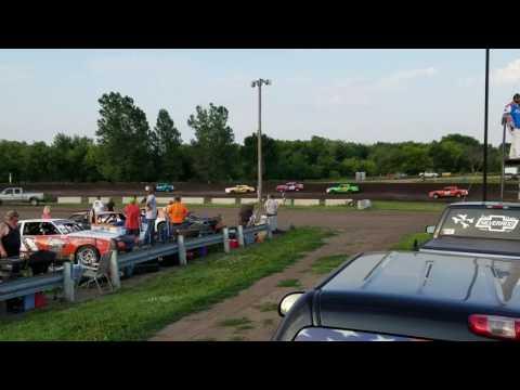 Dylan Fitzpatrick 6/24/16 Rapid Speedway Heat