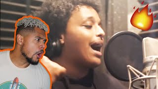 Agent 00 spitting fire in the booth!! AMP CREATES A SONG IN 24 HOURS