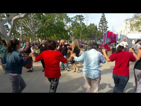Bulgarians in L.A. Dancing @ National Holiday 3rd of March Pii Kume Pii