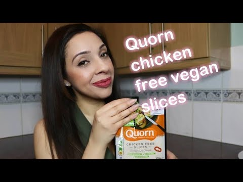 Quorn chicken free vegan slices review from YouTube · Duration:  4 minutes 53 seconds