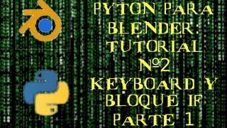 Moviendo un cubo usando Pyhton en Blender Game Engine. Tutorial 2 parte 1