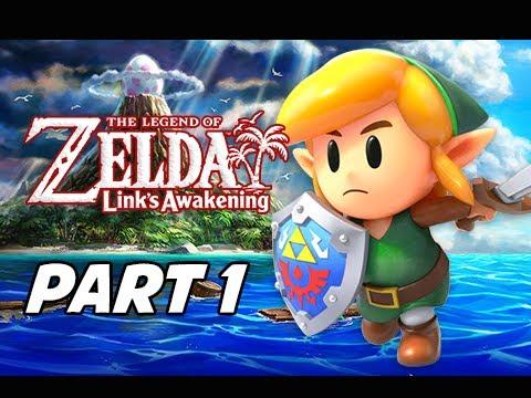The Legend Of Zelda Link S Awakening Walkthrough Gameplay Part 1 Full Game Intro Nintendo Switch
