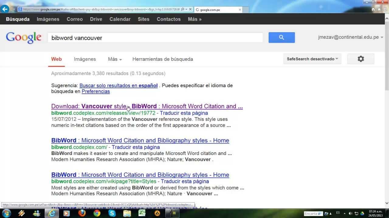 Cómo instalar el estilo vancouver para Microsoft Word - YouTube