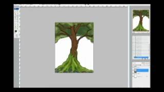 Timelapse - Mangrove Tree Speedpaint