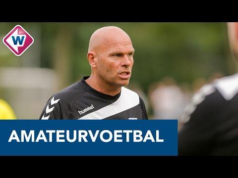FC Lisse-coach Robbert de Ruiter over het duel tegen Hoek - OMROEP WEST SPORT
