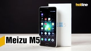 Meizu M5 — очередная вариация современного бюджетного смартфона