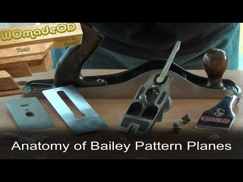 Stanley Bailey Bench Planes - An Anatomy