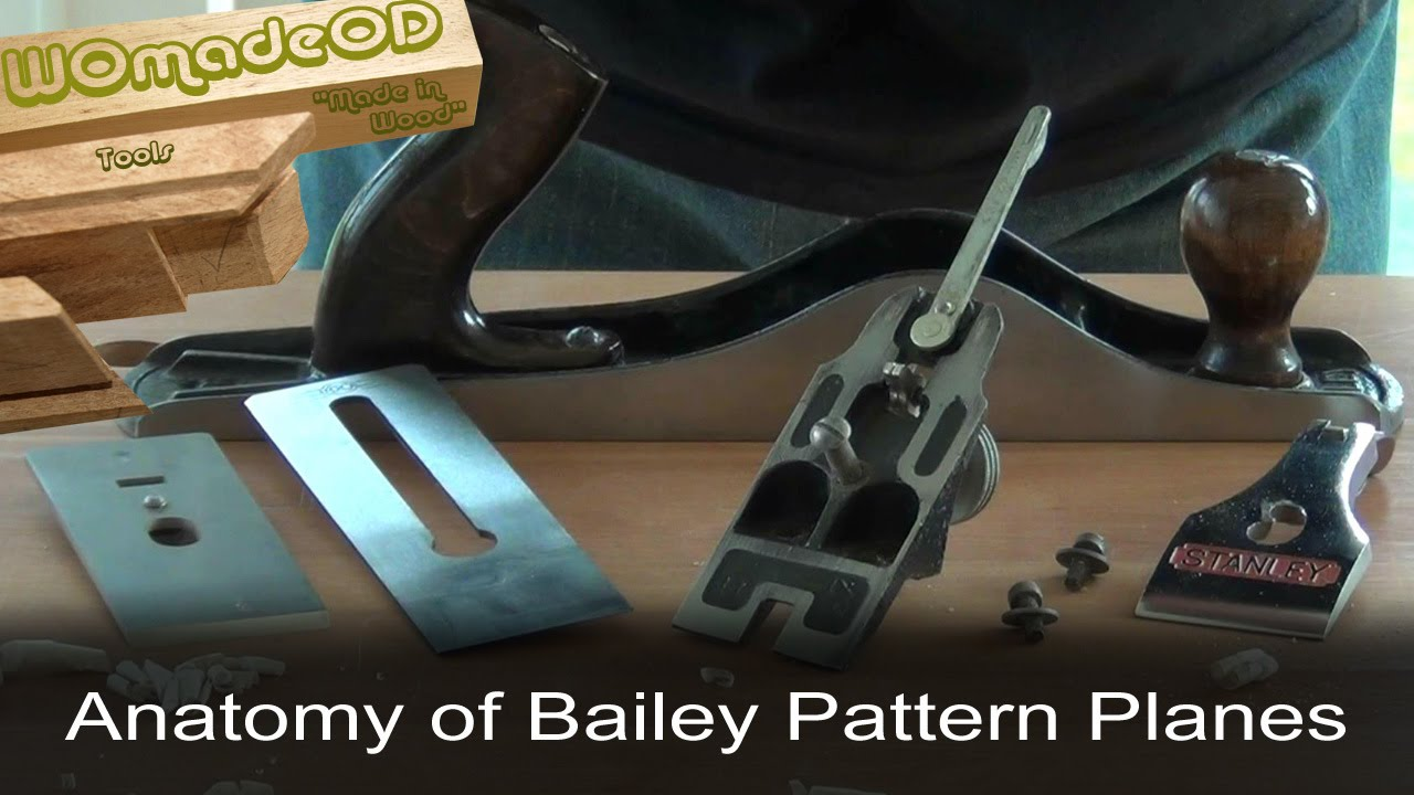 Stanley Bailey Bench Planes - An Anatomy - YouTube