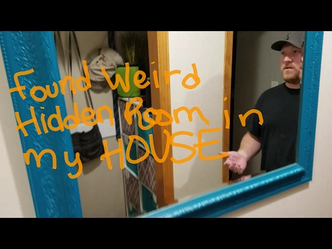 Thumbnail: Found hidden room in my house,weird enclosed area, what's inside?