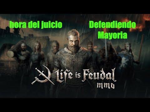 life is feudal mmo hora del juicio: defendiendo mayoria