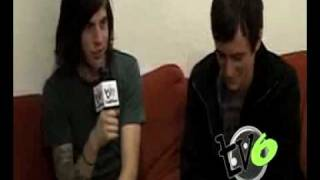 The Devil Wears Prada Interview 11-08 Chicago by TV6 pt1