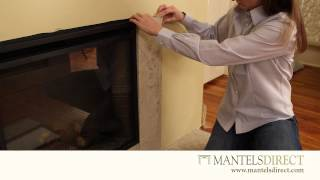 Stone Facing Kit | Installation | Mantelsdirect.com