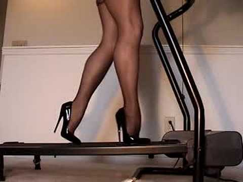 Stiletto Heels And Hose