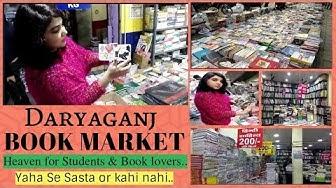 Daryaganj Book Market | Sunday Book Market in Delhi | Books & Stationery | Shop & Explore