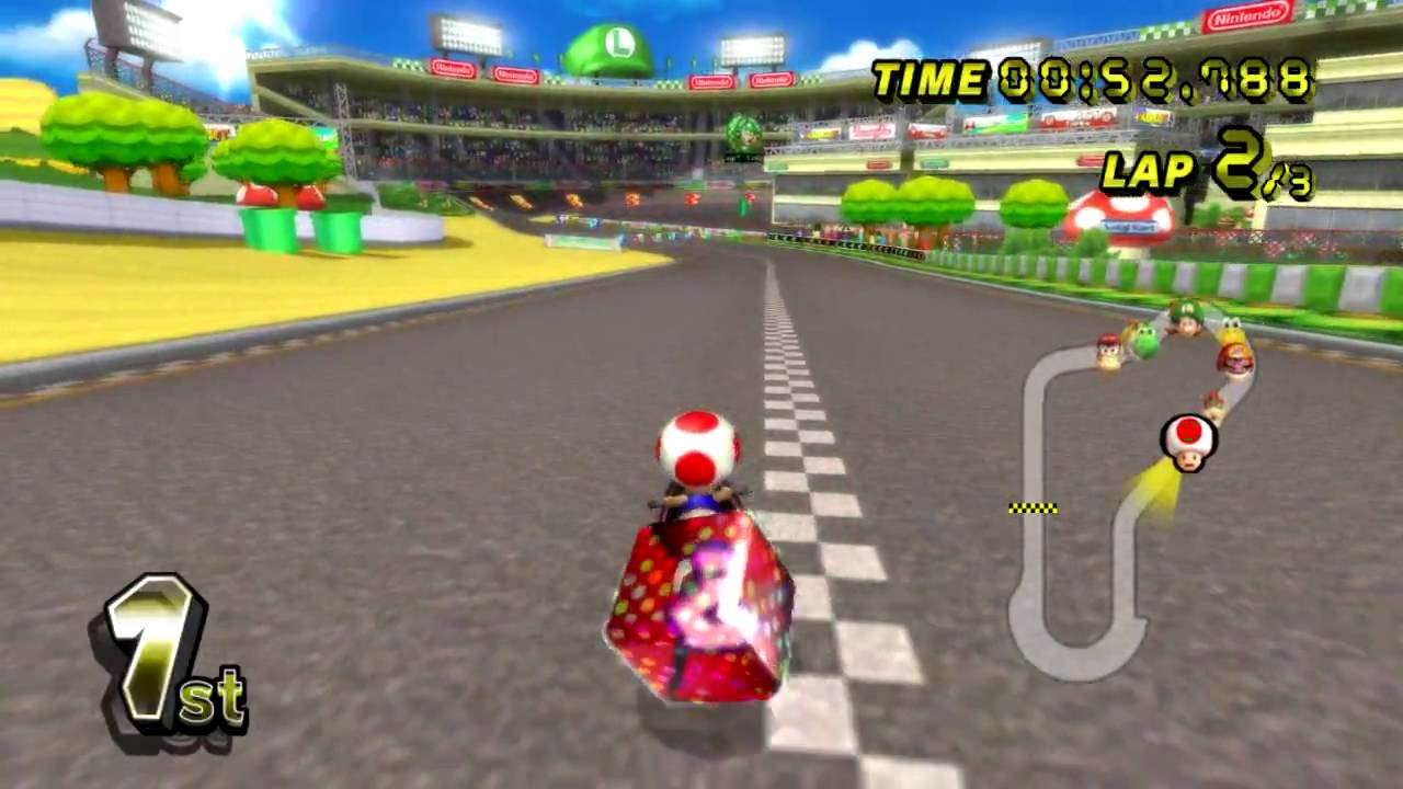 mario kart wii rom Mario Kart Wii on Dolphin Emulator   YouTube