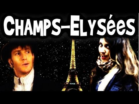 Champs Elysees Joe Dassin  A Cappella French song 香榭大道 lyrics  Trudbol & Kartiv2