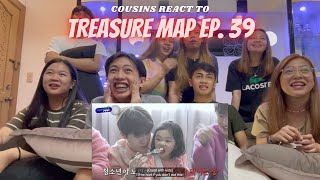 Download lagu COUSINS REACT TO [TREASURE MAP] EP.39 👶🏻 우리 아이돌이 달라졌어요 👶🏻 트레저 베이비시터