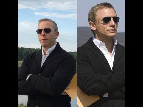 The Frugal Bond James Bond Cardigan from Quantum of Solace