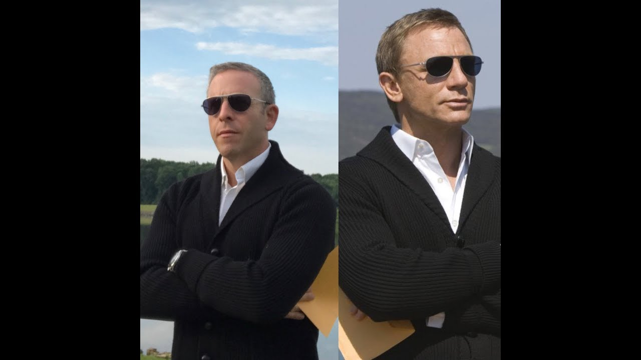 The Frugal Bond James Bond Cardigan From Quantum Of Solace Youtube