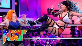 Catanzaro, Carter \u0026 Sarray vs. Rose, Dolin \u0026 Jayne: WWE NXT, Sept. 14, 2021