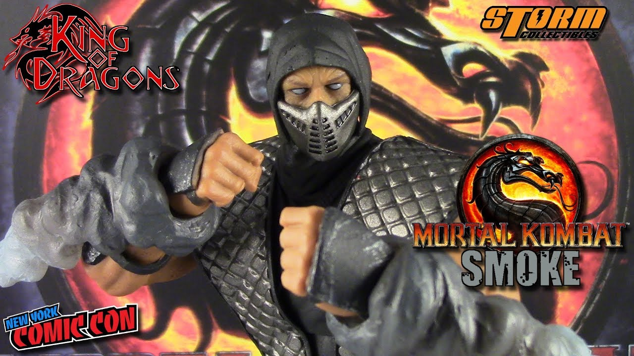 NYCC 2018 Smoke Mortal Kombat Storm Collectibles 1//12 Action Figure