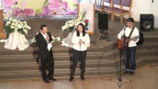 Выступление Алексея, Ирины и Андрея 01.05.2016. ПАСХА 5 часть