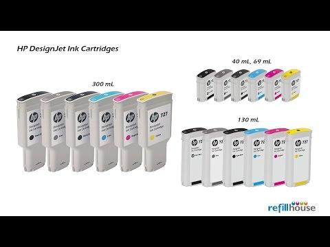 HP Designjet Ink Magictube Refill - HP 70, 72, 727, 728, 130mL/250