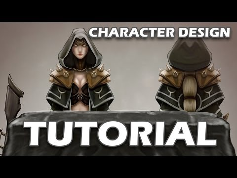Tutorial - Character Design - Concept Art