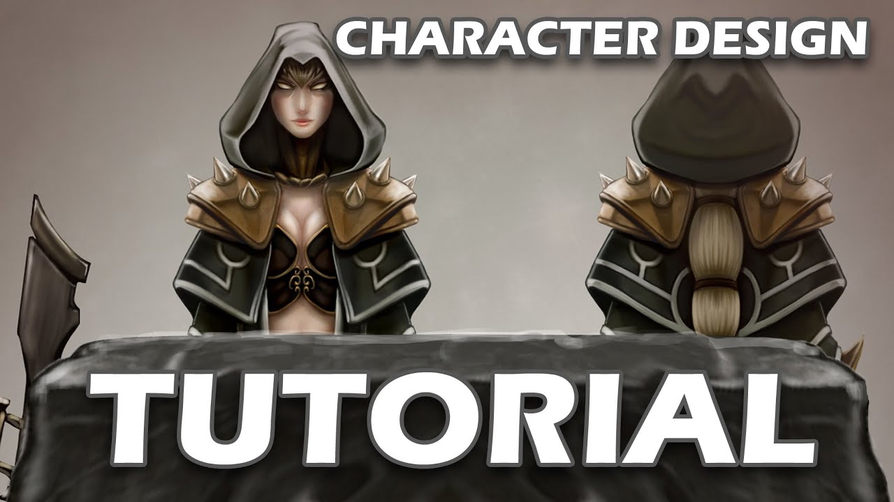 Character Design Tutorial Free : Tutorial character design concept art youtube