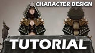 Tutorial - Character Design - Concept Art