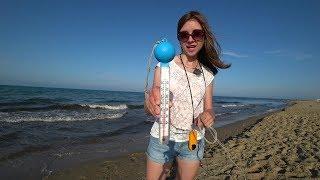 Анапа. Погода. 02.06.2019. Пляж Витязево.