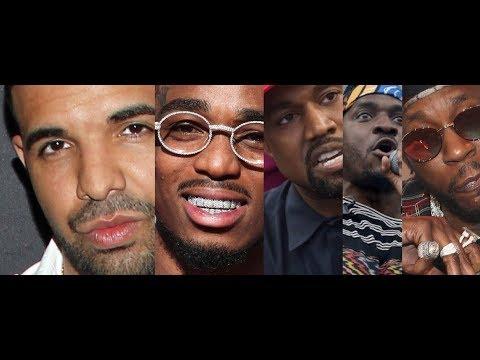 Drake Diss Kanye and Pusha T Age on Quavo Album, Kinda Dumb, 2 Chainz Drops Drake Track and CRICKETS