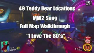 49 Teddy Bear Locations MW2 Song