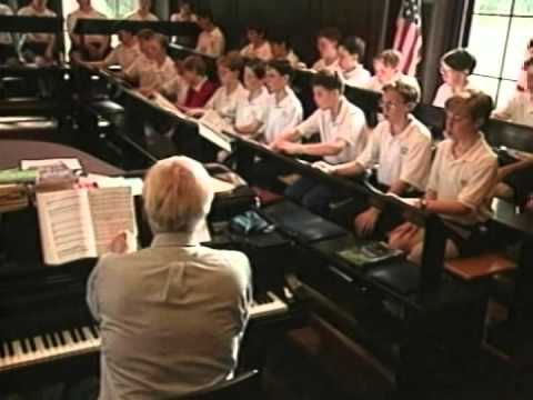 Singing from memory quot the american boychoir youtube