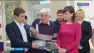 """Капсулу потомкам заложили в фойе одного из корпусов ГТРК """"Саратов"""""""