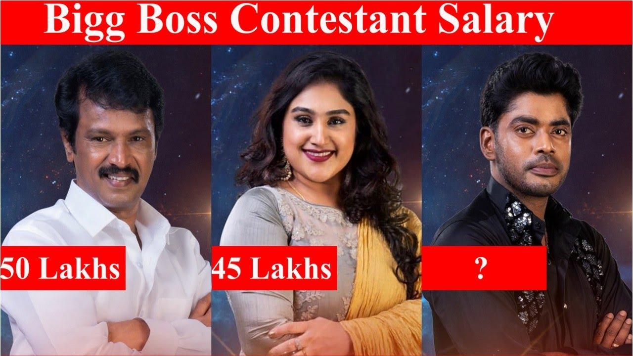 Bigg Boss 3 Contestant Shocking Salary Revealed | Bigg Boss 3 Tamil